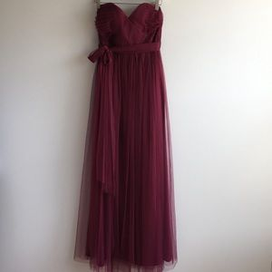 BHLDN Jenny Yoo Strapless Dress